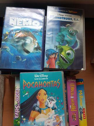 17 VHS Peliculas Originales Disney, Pixar