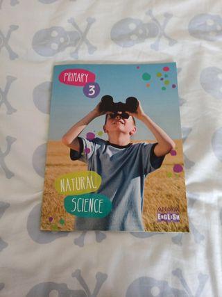Natural Science , tercero de primaria. Anaya