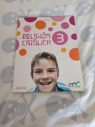 Religión Católica , tercero de primaria
