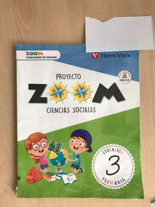 Libro ciencias sociales proyecto zoom 3 primaria