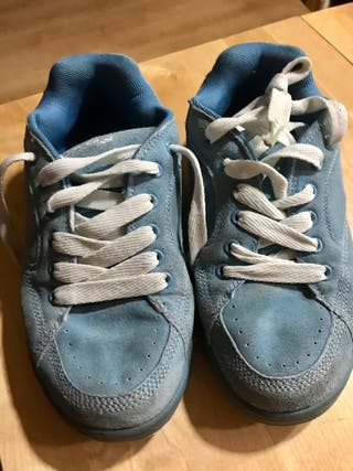 Zapatillas deportivas anchas azul claro ParBis