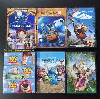 Pack Animación Disney Pixar en DVD