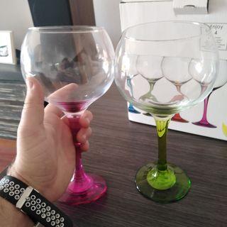 copas, gin-tonic