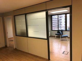 Mamparas paneles separadores de oficina
