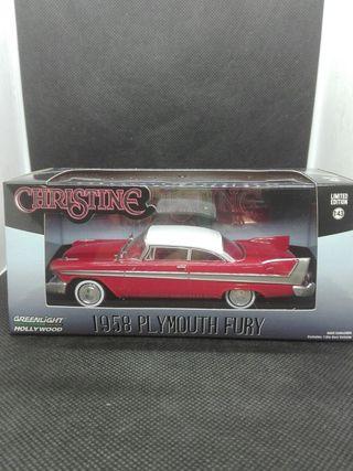 Plymouth Fury Christine Greenlight 1/43