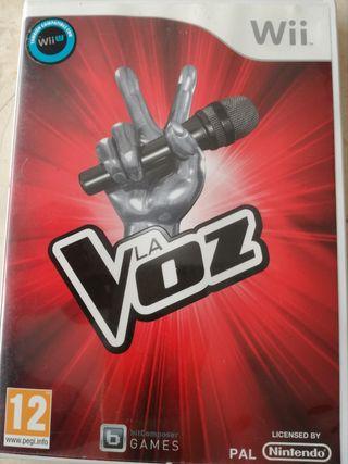 LA VOZ Wii