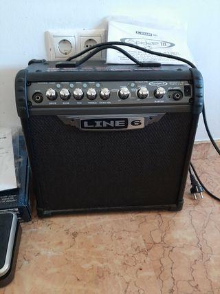 Pack ampli guitarra + pedal multiefectos