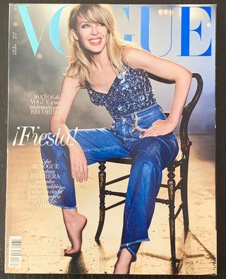 Kylie Minogue Revista Vogue España