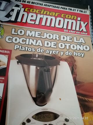 varias revistas de thermomix