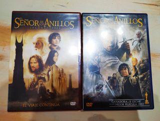 Pack dvd's 'El señor de los anillos'