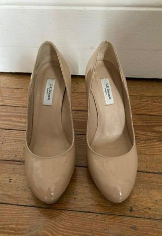 Zapatos LK Bennett Charol beige