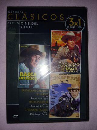 Dvd peliculas del oeste.