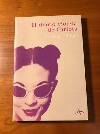"""Libro: """"El diario violeta de Carlota"""""""