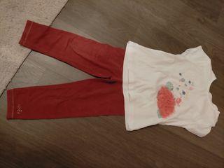 Camiseta y leggins