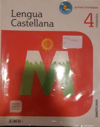 Libros edicion santillana ,curso 4 primaria,Pinto