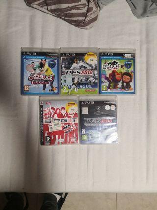 5 juegos para PS3