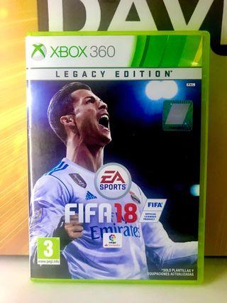 Juegos de XBOX 360: FIFA 18