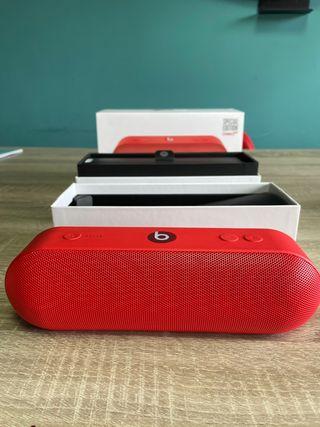 Altavoz Beats pill + rojo ed limitada.