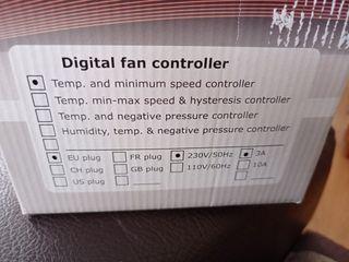 Controlador temp y hum G SE