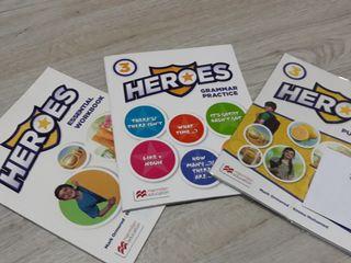 Libro inglés Heroes 3 primaria