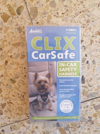 clicx carsafe transportin cinturón perros