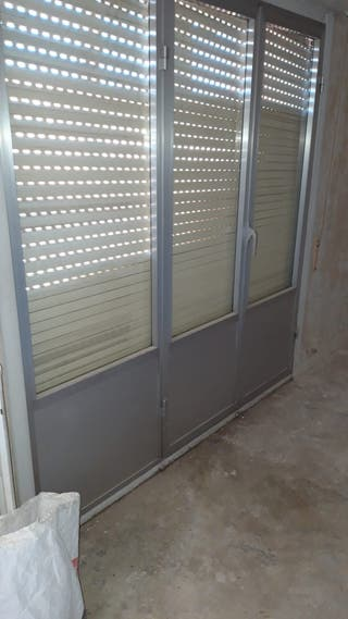 Puerta ventana salon aluminio
