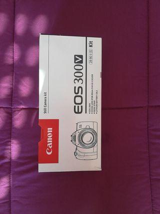 Objetivo cámara Canon