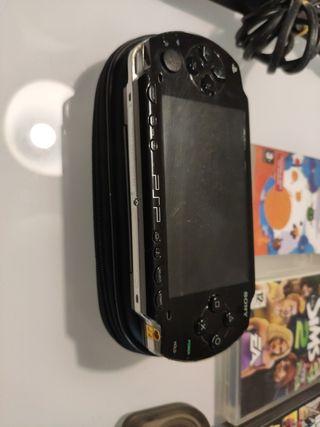 PSP Sony + juegos