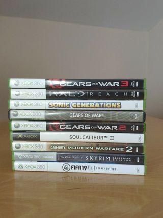 Xbox 360 10 juegos