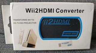 Wii2HDMI Adaptador HDMI por Nintendo Wii
