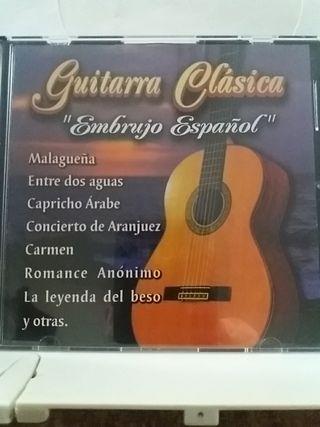 """Guitarra clásica """"Embrujo español"""""""