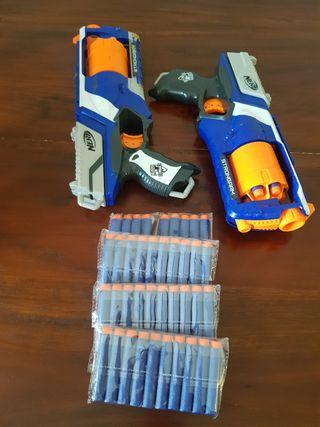 Nerf Elite Strongarm (2 ud) + 40 dardos