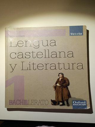 Lengua castellana y literatura 1r bachillerato