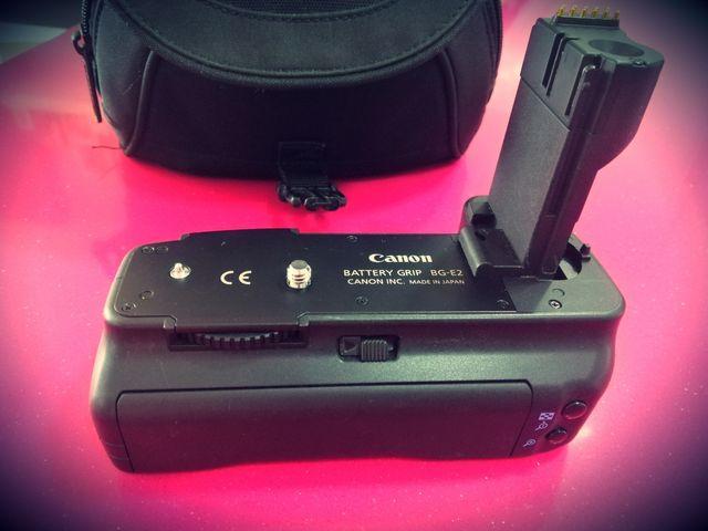 Cámara de fotos Canon+bateria extraible