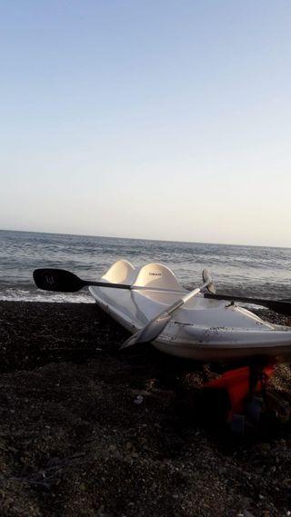 kayak fibra doble