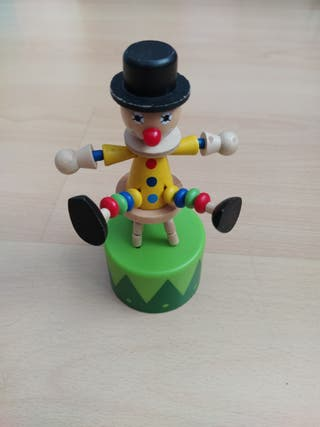 Payaso de juguete