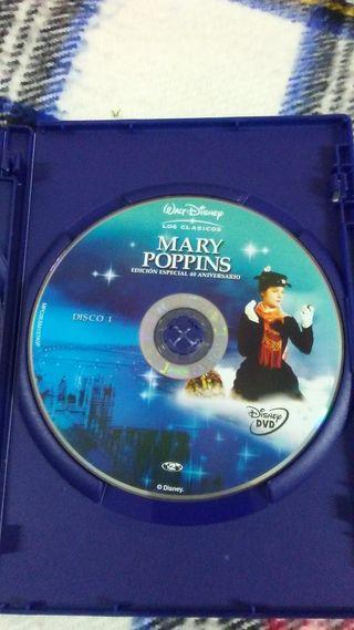 DVD MARY POPPINS. EDICIÓN ESPECIAL.