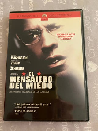 DVD EL MENSAJERO DEL MIEDO
