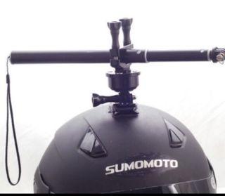 Rotación 360 soporte GoPro