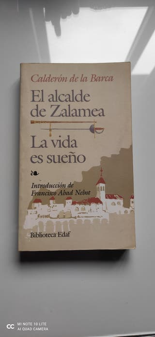 Dos obras de Calderón de la Barca