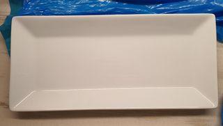 Platos rectangulares 32 cm x 14 cm