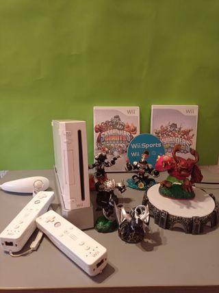 Wii en perfecto estado +3 juegos