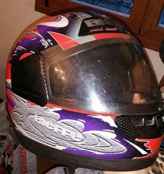 casco moto Bieffe talla M