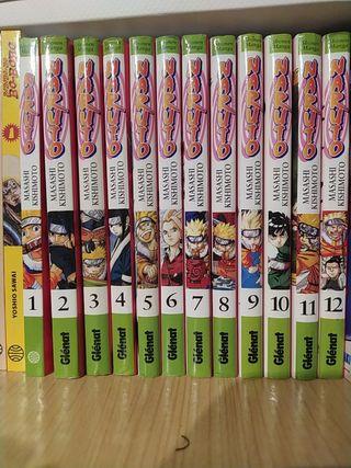 Manga Naruto 1-12