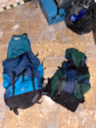 2 mochilas de montanaña 60L