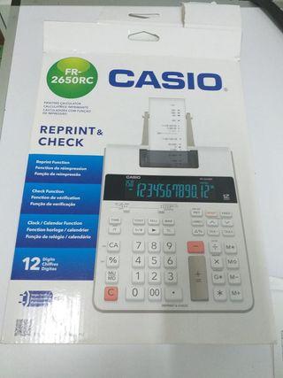 Calculadora con impresora FR-2650RC