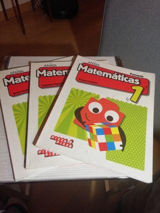 Anaya 1 de primaria matematicas pieza a pieza
