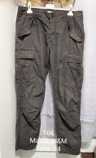 4 Pantalones hombre (Ves anuncio)