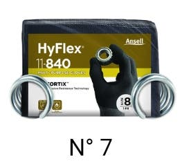 3 ANSELL HyFlex®11-840 TALLA 10 #NUEVOS A ESTRENO