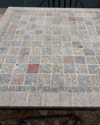 Mesa Jardin mosaico y 4 sillas